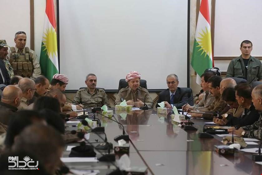 In a secret visit - US official warns the Kurds of the continued support of the Mahdi government and proceed with Irans plan