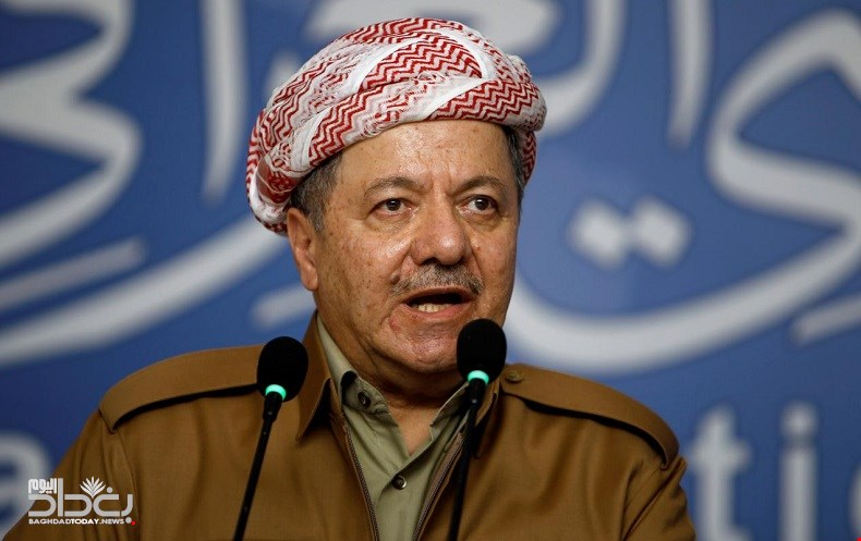 Barzani - We will not ask permission of Baghdad or Washington to hold the referendum and his opponents will commit suicide politically