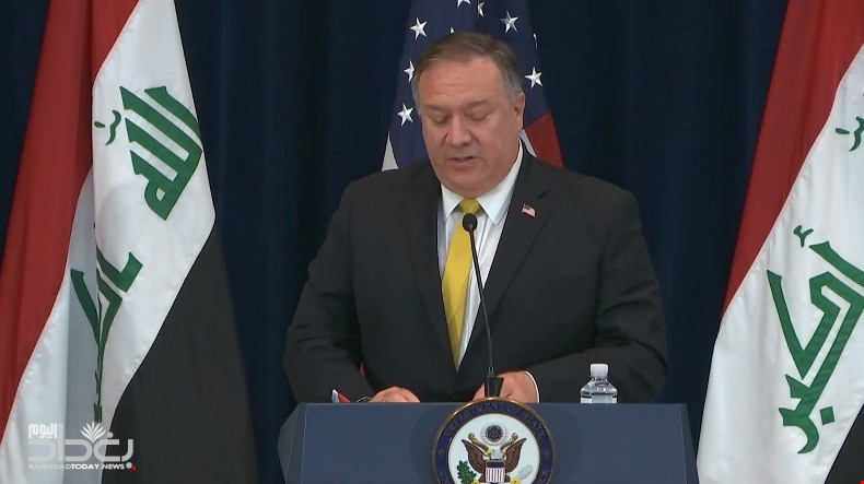 Pompeo - We support early elections in Iraq and we will not focus on the military issue in the dialogue