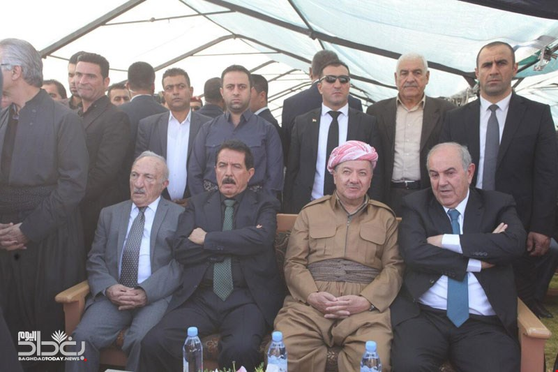 Presidency of Kurdistan reveals an agreement between Barzani and Allawi and Nujaifi on the crisis with Baghdad
