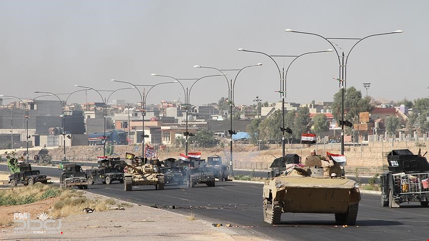 Iraqi forces in the maximum alert following the collapse of negotiations with Erbil