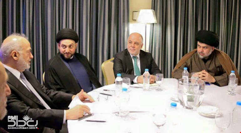 A Saudi station - Abadi will surprise Maliki with a large coalition includes Sadr