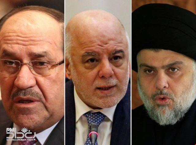 To form the largest bloc .. US site - Sadr on condition that Abadi remove Maliki from any alliance