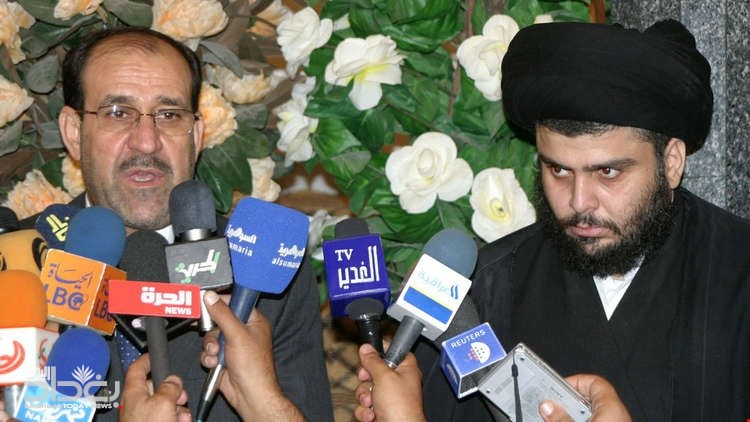 Source - Sadr refuses to join Maliki for his alliance with Amiri .. This is the position of Abadi