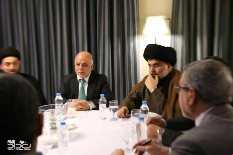 Alliance Sadr declares the formation of the largest bloc .. Maliki and the dagger outside
