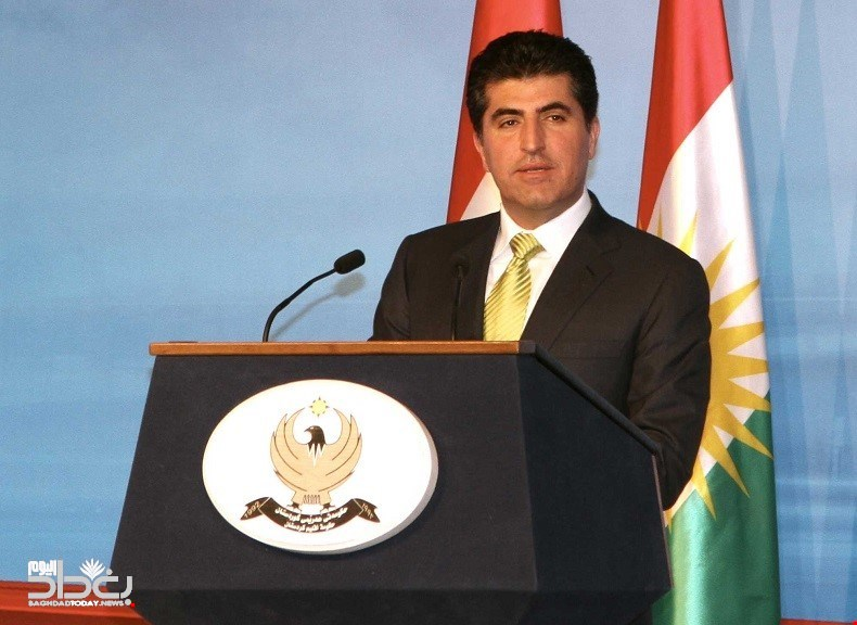 Barzani - There will be no stable Iraq without solving these two issues and the ball at Abdul Mahdi Stadium