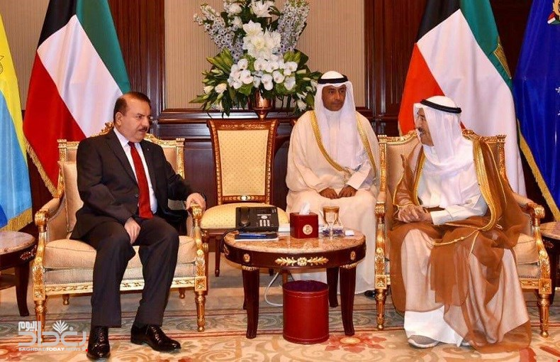 Minister of Interior meets Emir of Kuwait 93040