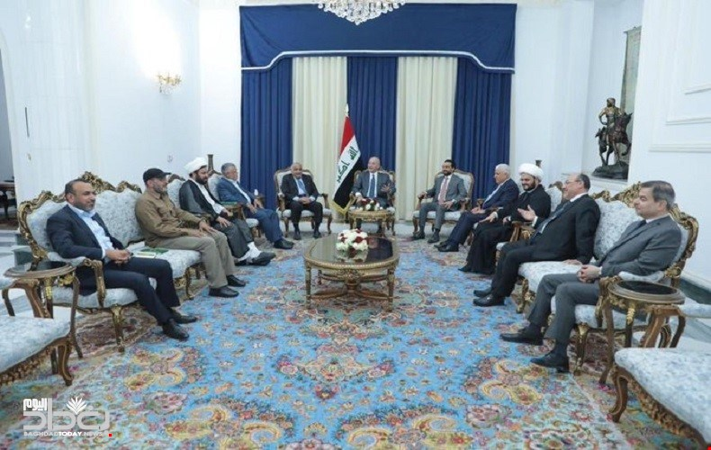 The three presidencies hold a meeting with the leaders of the crowd to discuss the Israeli bombing 95424