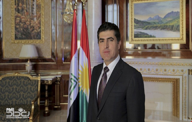 Barzani and Mike Pence confirm by telephone on the continuation of the partnership between America and Kurdistan 95477